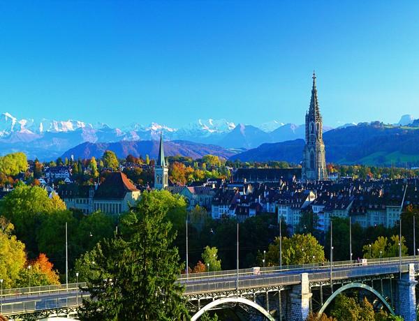 Берн — цветочная столица Швейцарии