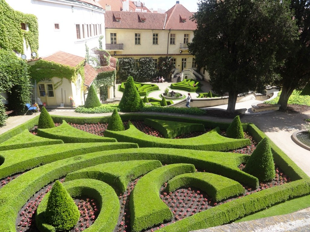 Пражские сады в стиле барокко
