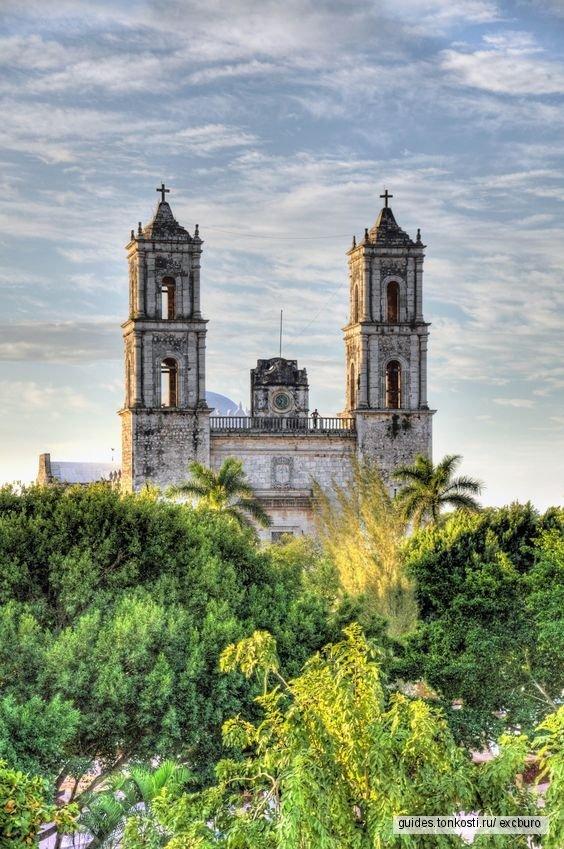 Колониальный город Вальядолид + Чичен-Ица + плавание в сеноте