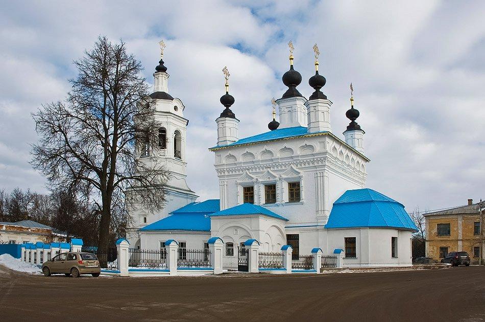 «Архитектура калужских церквей и святыни Калуги»