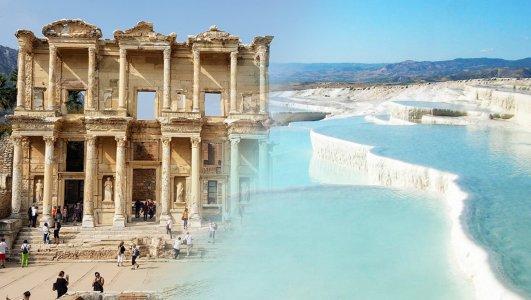 Эфес — Памуккале из Мармариса и Ичмелера