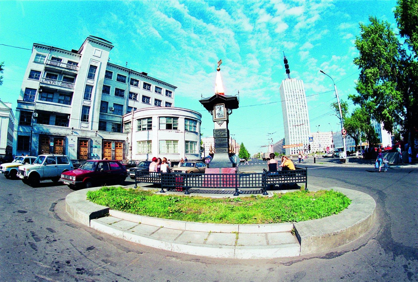 Северный город Архангельск