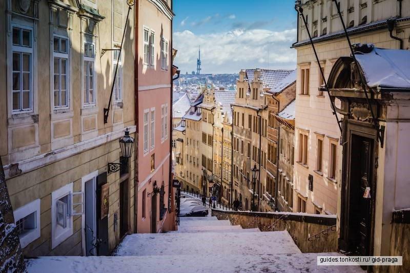 «Рождественская и новогодняя Прага». Пешая, авто-пешеходная или автомобильная экскурсия по Праге