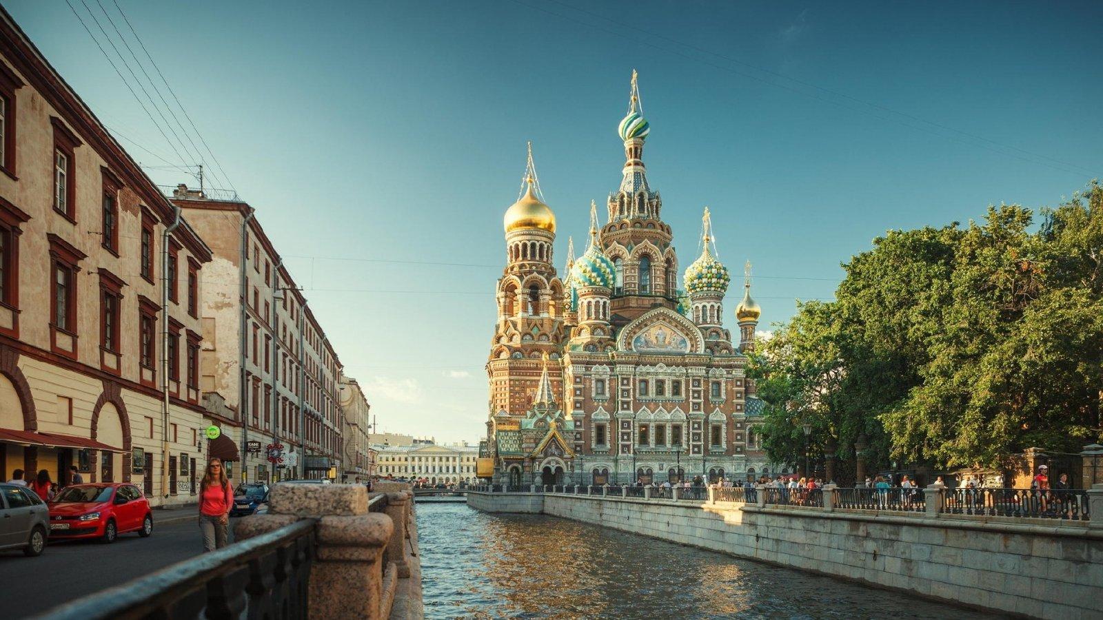 Петербург и Петропавловская крепость — большая обзорная