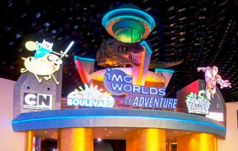 Парк IMG Worlds of Adventure (Индивидуально)