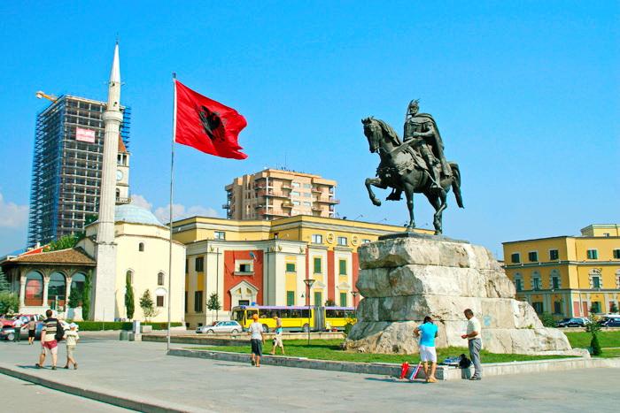 Албания с высоты птичьего полета