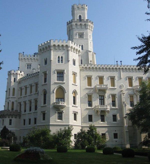 Чешский Крумлов и замок Глубока