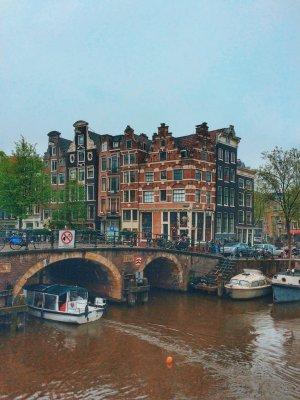 Амстердам — ожерелье каналов и знаменитый Йордан