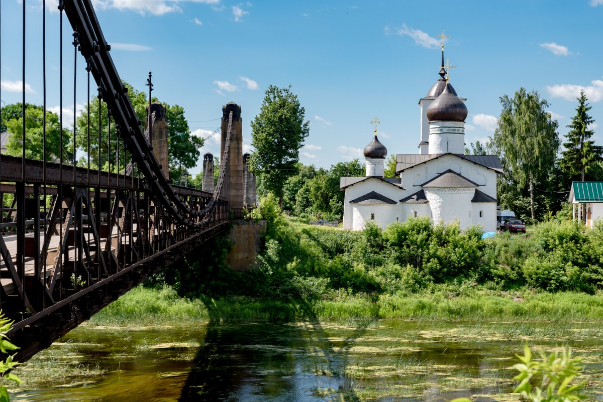 Остров, автобусная экскурсия из Пскова