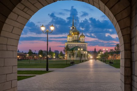 Наша Тульская земля начинается с Кремля