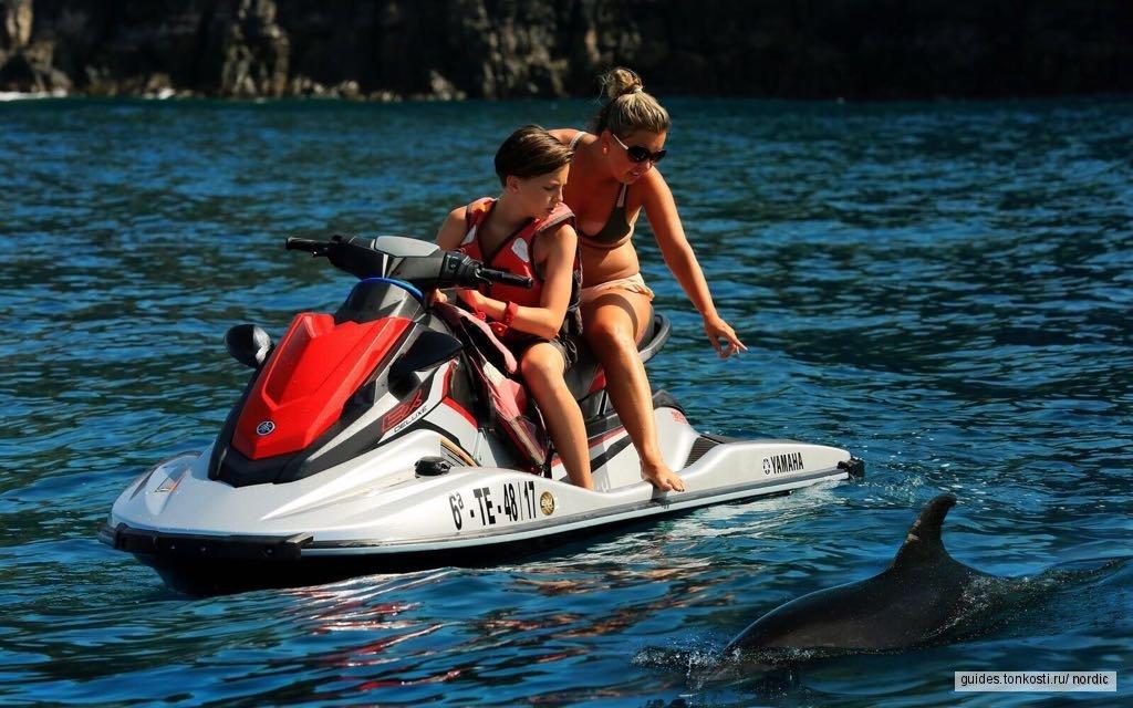 Водные мотоциклы — самые яркие эмоции!
