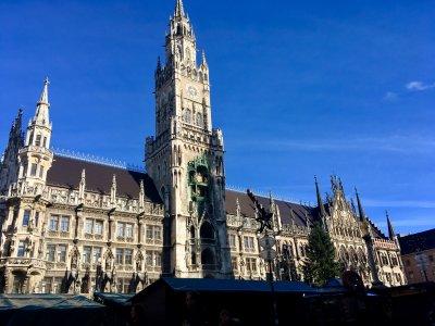 Пешком по центру Мюнхена