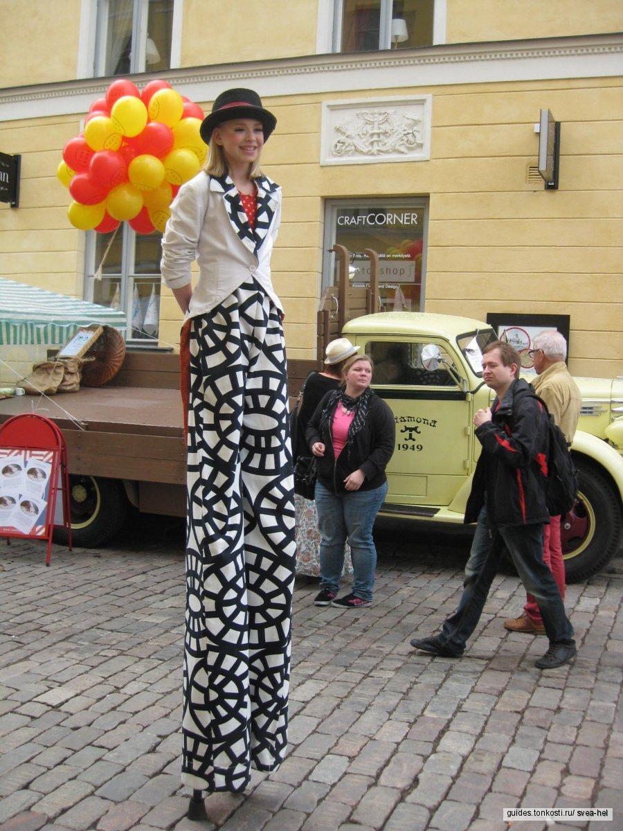 Транзитом в Хельсинки? Или же лень ходить пешком?