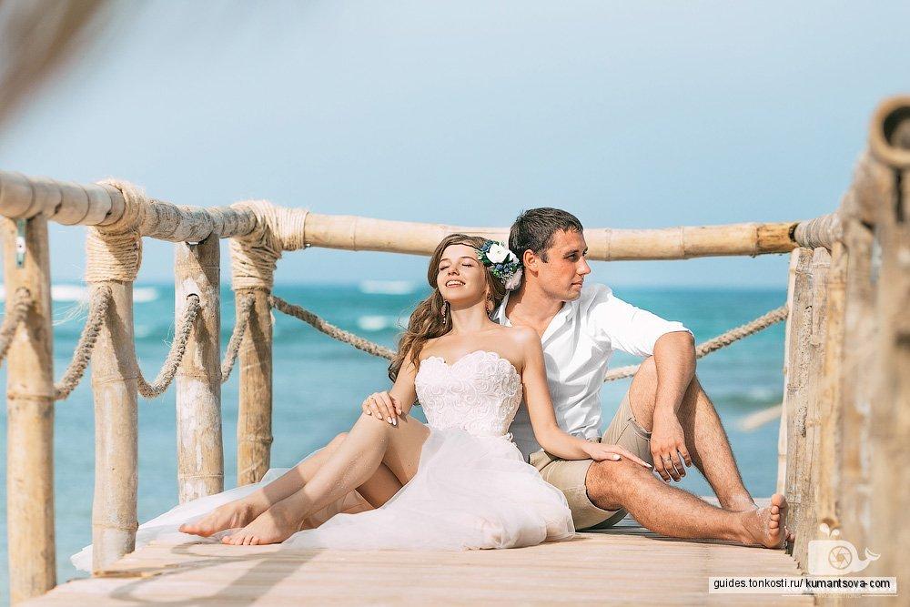 Свадьба + фотосессия на пляже Амор