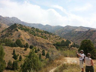 Горы Западного Тянь-Шаня: Амирсой, Бельдерсай, Чимган, Чарвак, Ходжикент