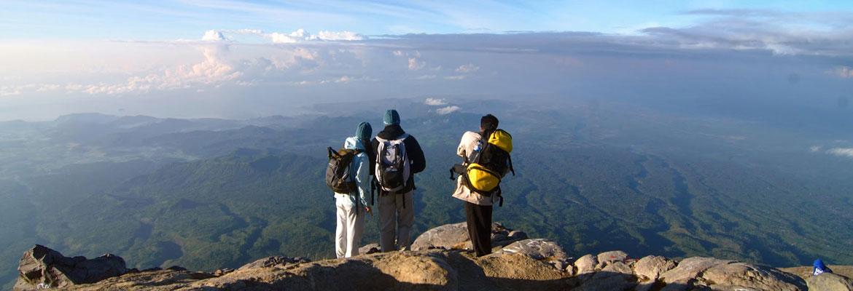 Подъем на вулкан Агунг
