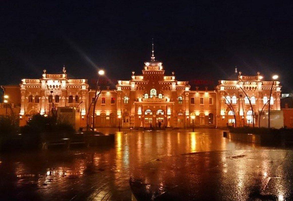 Казань зажигает огни