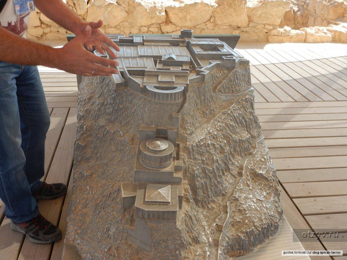Крепость Масада и Мертвое море (на экскурсионном автотранспорте)