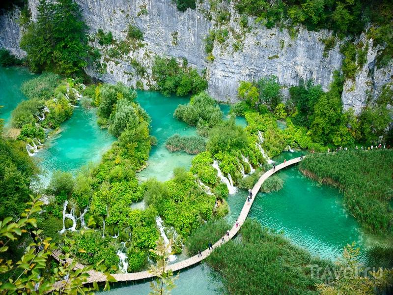Плитвицкие озера из Истрии