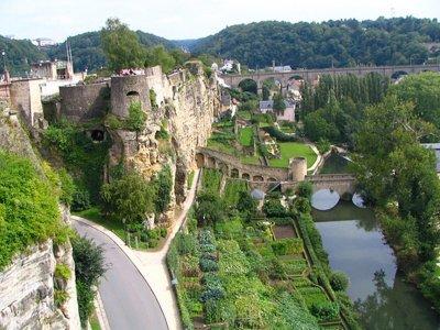 Люксембург -столица Великого Герцогства и «четыре яруса великолепия»