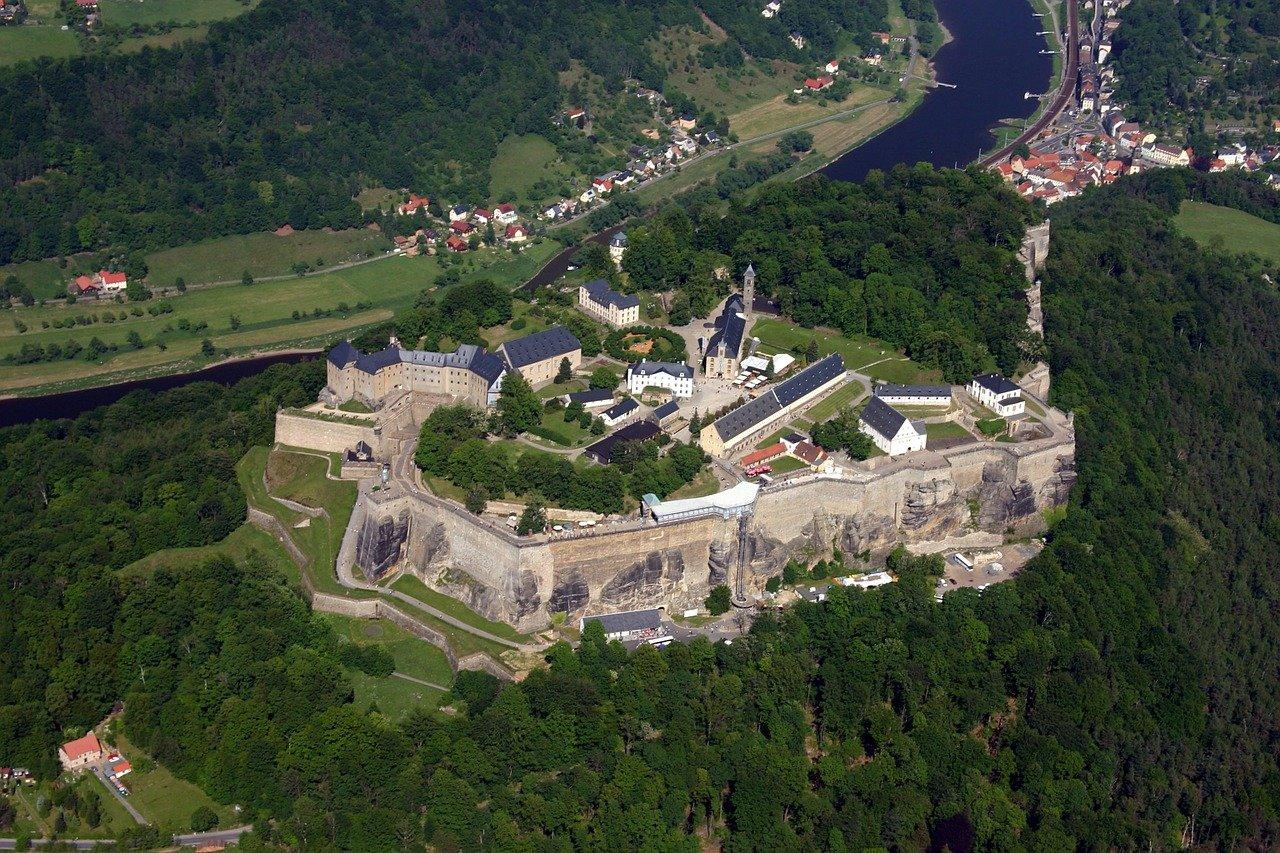 Крепость Кенигштайн, термы Бад-Шандау и Ту-104