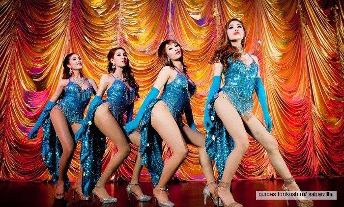 Шоу трансвеститов «Афродита» на Пхукете