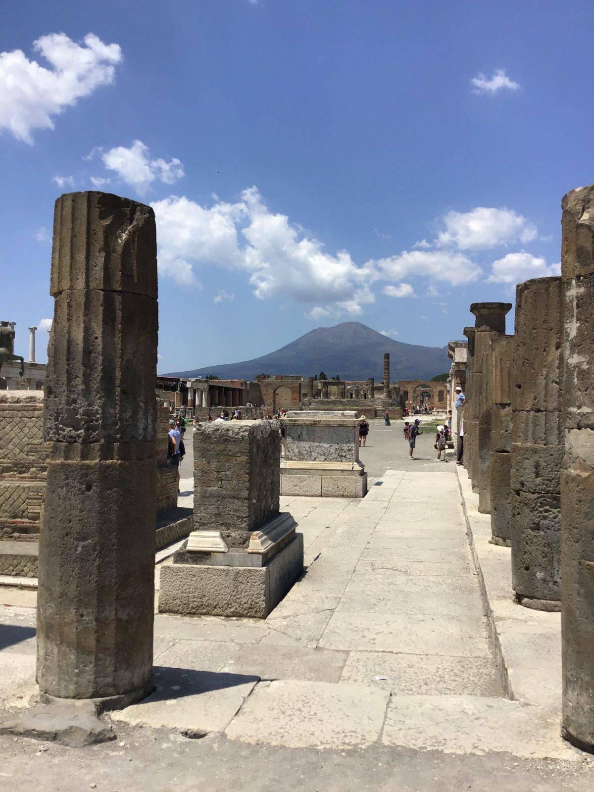 Помпеи, путешествие во времени
