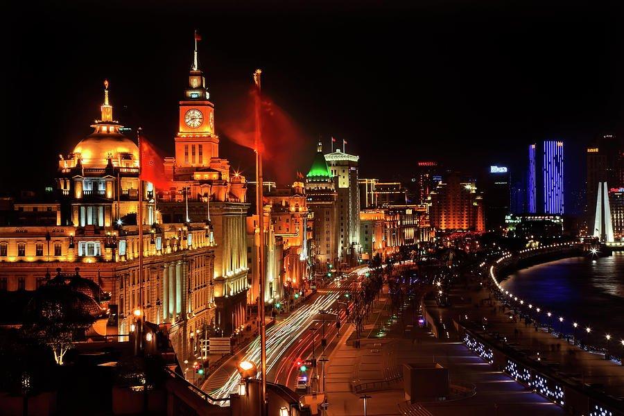 Экскурсия по ночному Шанхаю за 3 часа