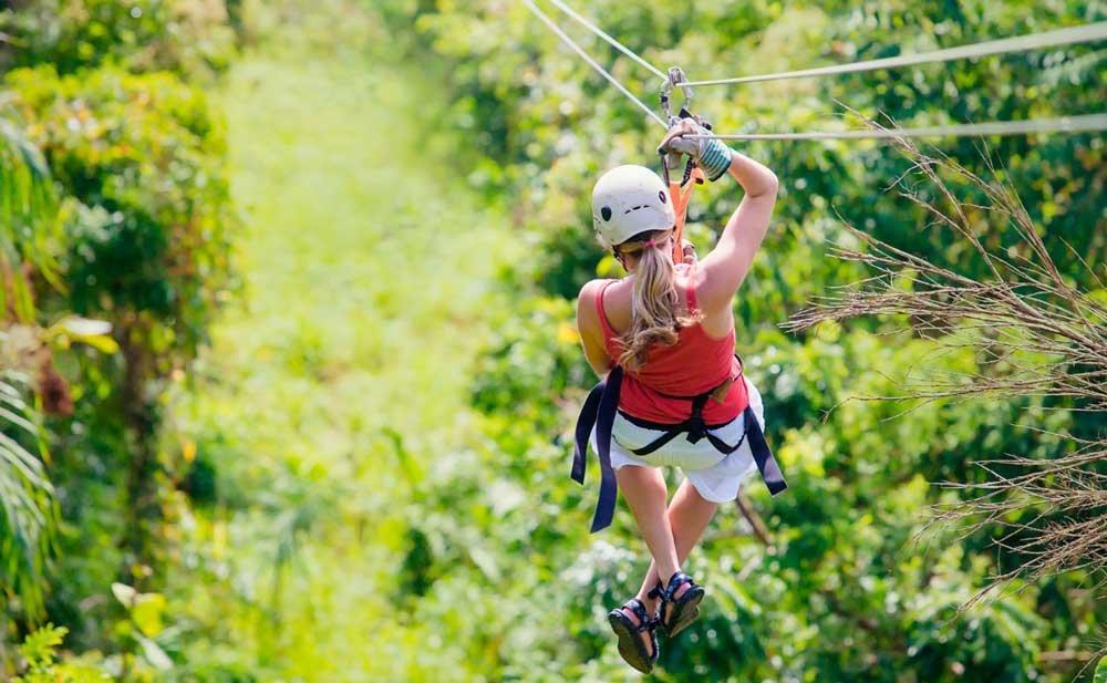 Парк Обезьян и Zip Lines в Доминикане