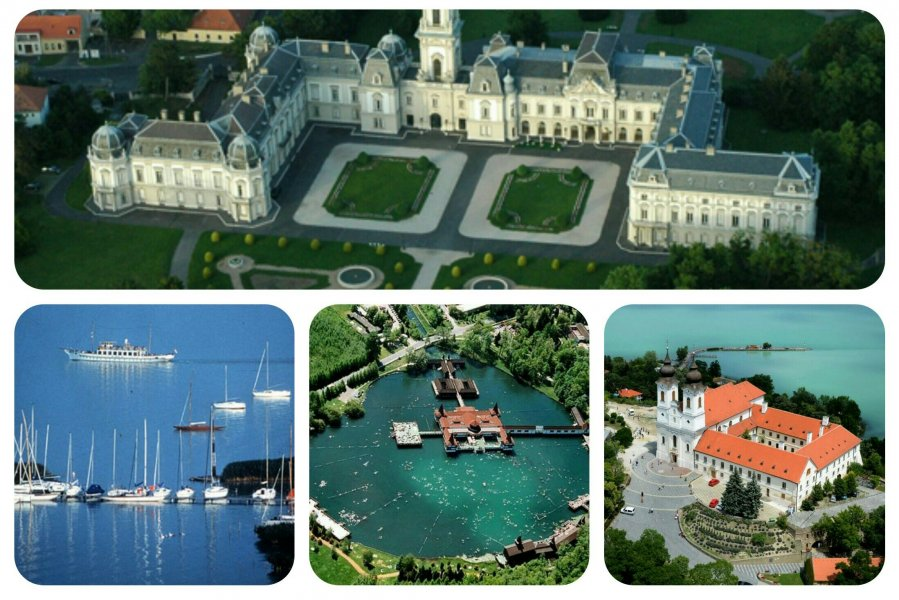 Целебное биотермальное чудо-озеро Хевиз в туре вокруг «Венгерского моря» — знаменитого озера Балатон