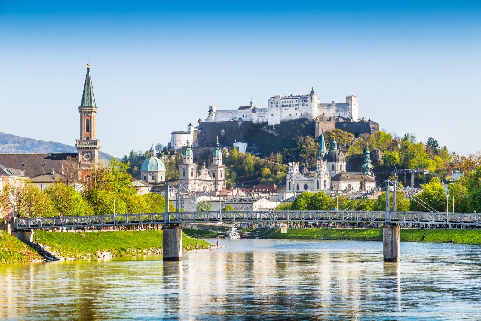 Из Праги в Зальцбург