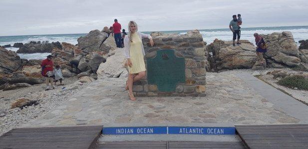 Мыс Игольный — встреча двух океанов
