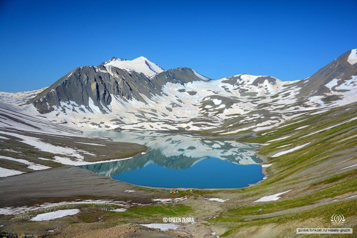 Поход на три дня к озеру Келицади