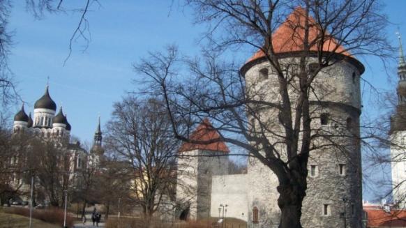 Таллин в пределах крепостной стены