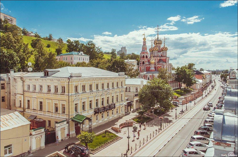 Музей под открытым небом (пешеходная экскурсия по улице Рождественской)