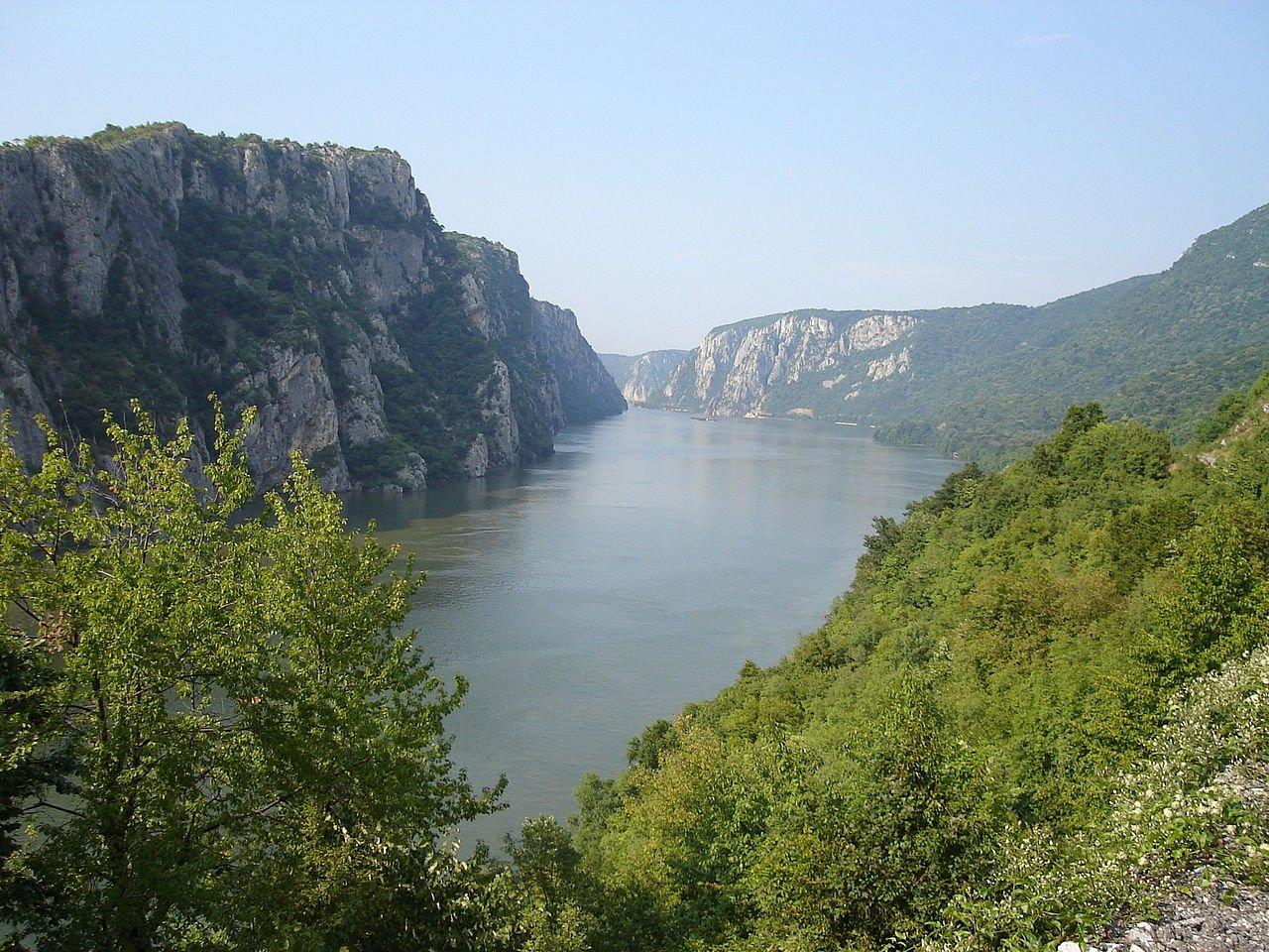 Железные Ворота Дуная в Сербии