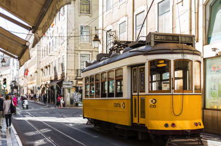 Лиссабон пешком на весь день