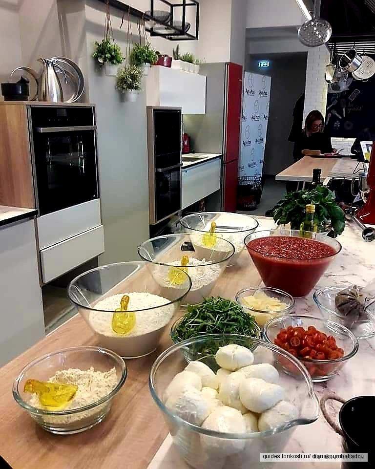 Кулинарный мастер-класс от шеф-повара!