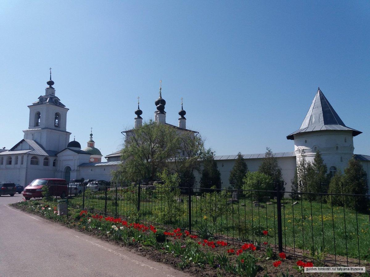 «На берегах Оки: Белопесоцкий монастырь и Кашира»
