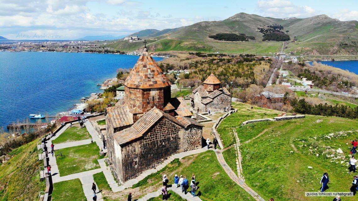 Величие храма Гарни и таинственность монастыря Гегард, жемчужина Армении — озеро Севан!