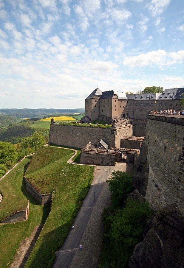 Дрезден и крепость Кёнигштайн