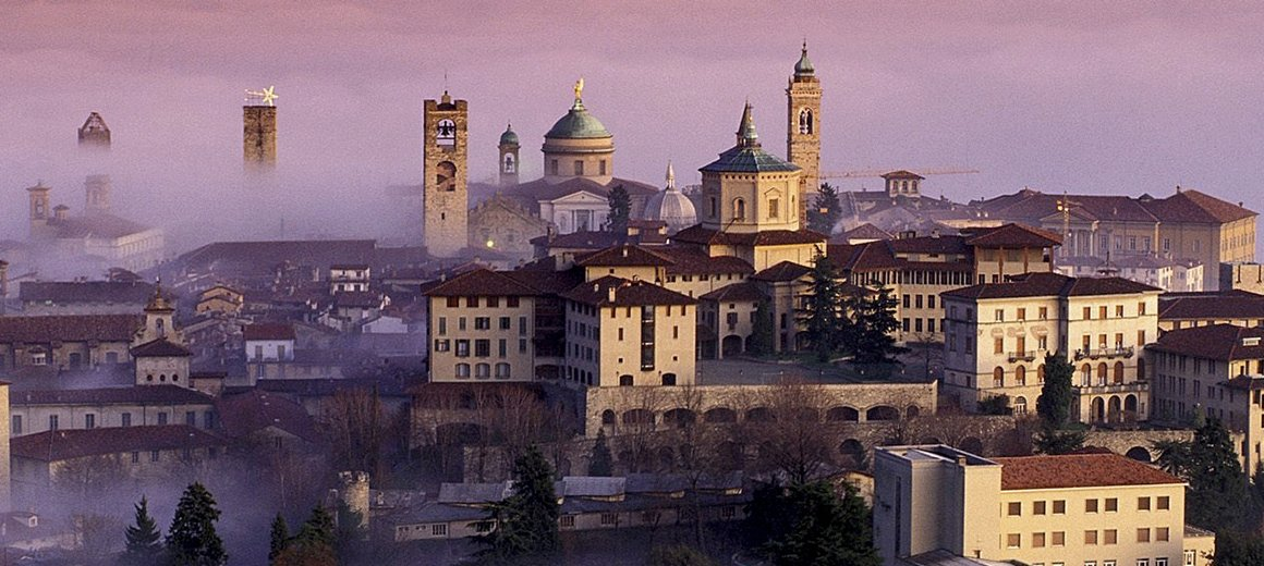 В Бергамо из Милана. Взаимосвязь старины и прогресса