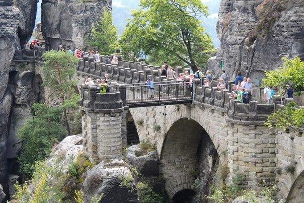 Саксонская Швейцария + Чешская Швейцария
