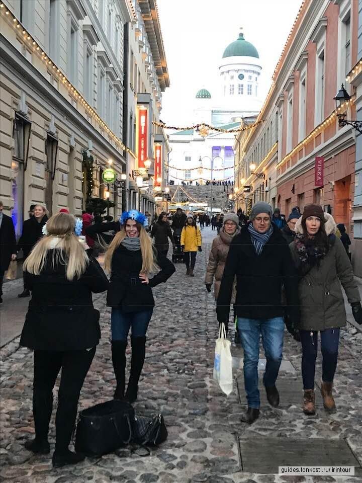 Рождественская Kymppi-самые красивые места в Хельсинки
