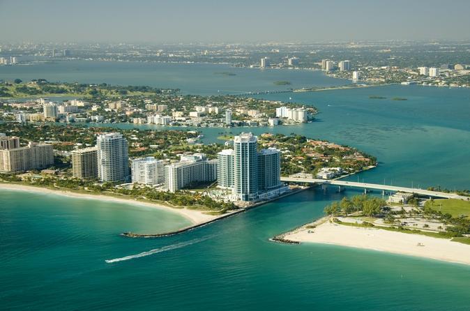 Вертолетная экскурсия над Майами.