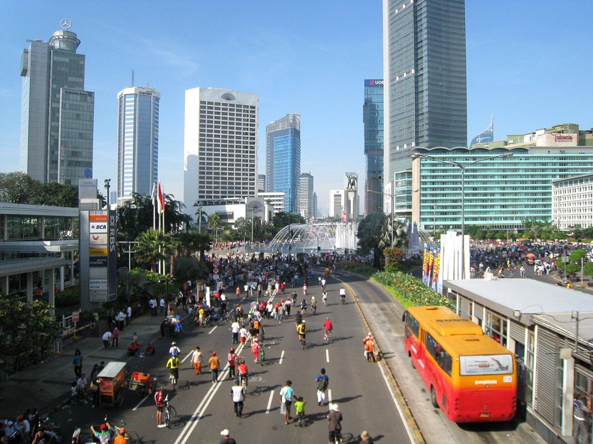 Джакарта, 1 день