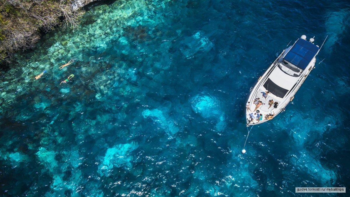 Морской круиз на яхте BURJIMAN к островам Бали