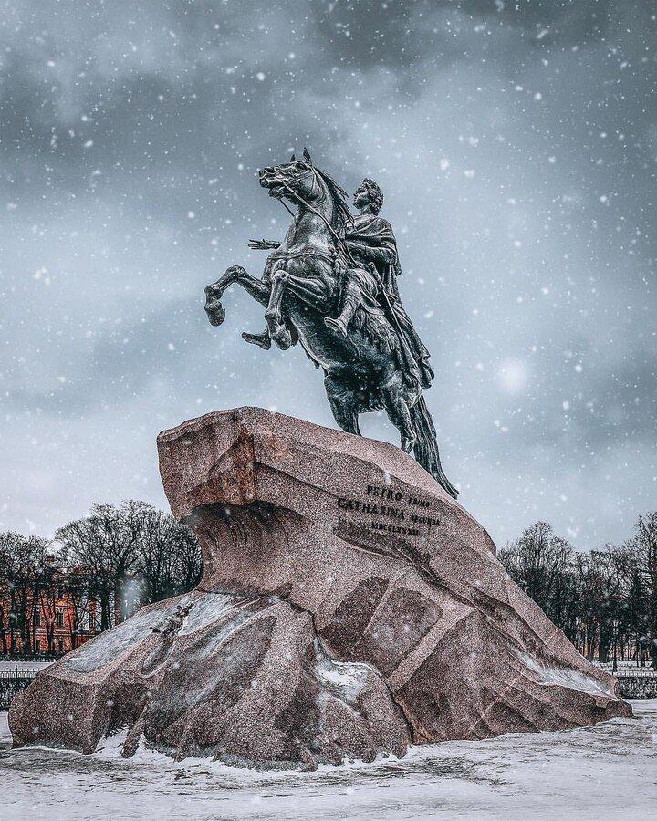 Санкт-Петербург — Новогодняя сказка