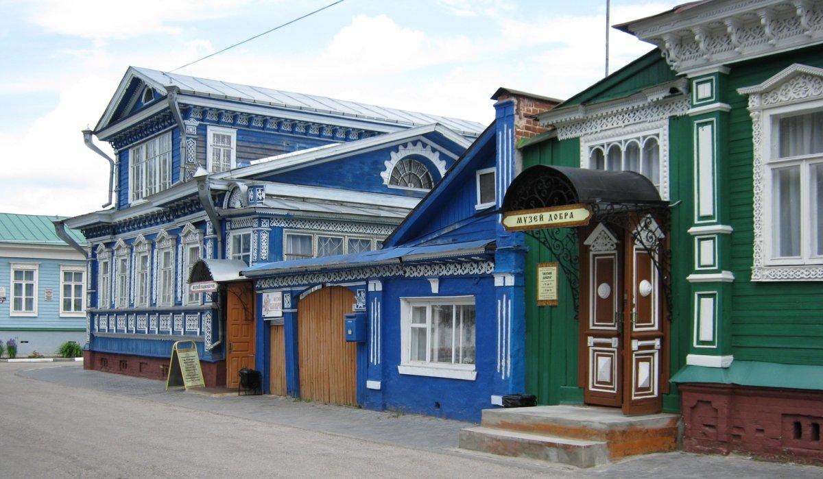 «Древний Городец — город народных ремёсел, самобытных музеев и «пряничных» домиков