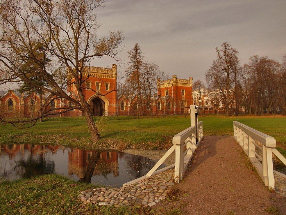 Петергоф Николая I. Парк Александрия